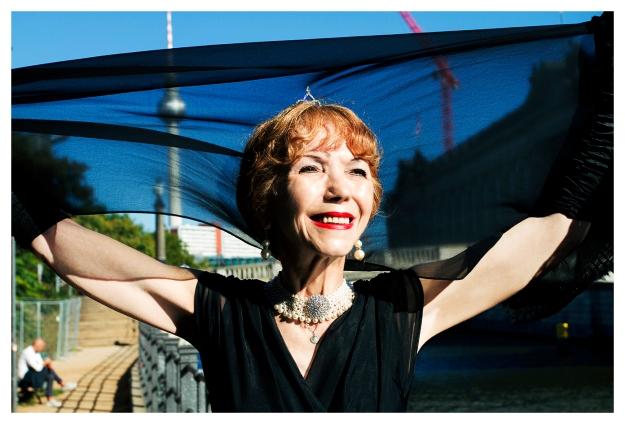 Rosmarie Schubert-Blum- Geschäftsfrau, Model & Lebenskünstlerin
